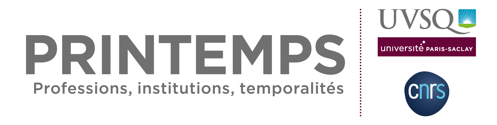 logo-Laboratoire Printemps (Professions, Institutions, Temporalités)